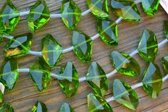 Item#: S-159 Chinese Crystal Axe Beads, Olive, 23x13mm 10-pc Strand for $6.75 New Beads Discount: $5.40 5 Available #beads https://www.facebook.com/groups/SamsBeadShop/ #beads #glass #crystals #artisan #beading #jewelrymaking #diyjewelry #diyjewelrymaking #jewelrydesign #handmade #diy #accessories #samsbeadshop