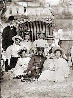 Tintype, Warnemünde/Germany 1906