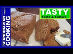 Danish Rye Bread - A Quick & Easy Danish Rye Bread Recipe     Love making this rye bread on the weekends. The molasses added to this b...