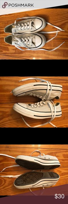 Converse Women's Size 7 Like New Light Beige Tan Converse Size 7 Like New Light Beige Tan  Size 7 Like New Condition Converse Shoes
