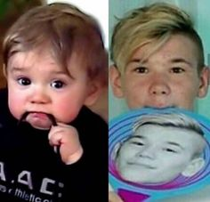 Hahah so cute 🥰❤️😍 Twin Boys, My Boys, Back Off, My Crush, Funny Faces, Idole, True Love, My Everything, Cute Babies