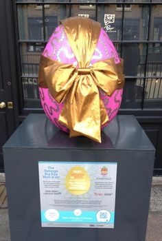 Faberge bow egg in Covent Garden #BigEggHunt