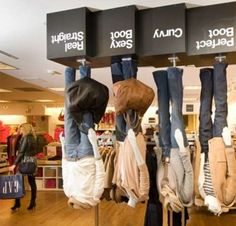 Upside-Down Advertisements:  The Upside Down Gap Store in Vancouver is a Marketing Win