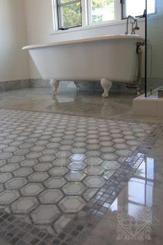 Black And White Vintage Bathroom Tile 31 Retro Black