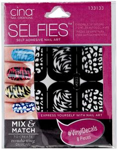 Shop for Self Adhesive Nail Art from Cina Nail Creations by Selfies at Sally Beauty. Use over nail lacquer or gel polish to create a variety of trendy designs Teenage Girl Gifts Christmas, Family Christmas Gifts, Gifts For Girls, Holiday Gifts, Girly Gifts, Split Nails, Self Tanning Lotions, Wax Warmers, Artificial Nails