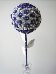 Make this floral ball centerpiece for the guest tables- @Sarah Chintomby Forhan shows you how.