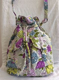 cc4f9e1039 FLASH SALE Vera Bradley Watercolor Bucket Cross Body Shoulder Bag Purse  NWOT  VeraBradley  Crossbody