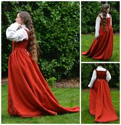 Italian Florentine Gown by MorganDonner, via Flickr  Dress Diary or Dress Blog I guess, it is really interesting on