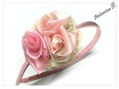 Headband 'Dusky Rose'