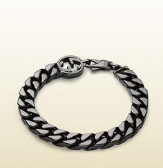 Gucci - bracelet with interlocking g detail 356262J84008195