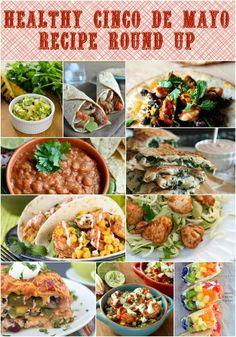 Healthy Cinco De Mayo Recipe Round Up http://www.fooddonelight.com