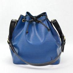 Luxury fasion resale store Rastro Louis Vuitton Petit Noe (By color) Epi Shoulder bags Blue Leather Cheap Designer Bags, Louis Vuitton Petit Noe, Resale Store, Blue Bags, Online Bags, Fasion, Bucket Bag, Gucci, Luxury