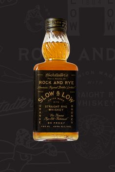 Slow and Low #packaging #whiskey