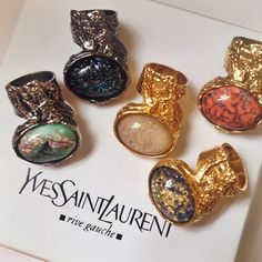 Yves Saint Laurent Rings Accessories