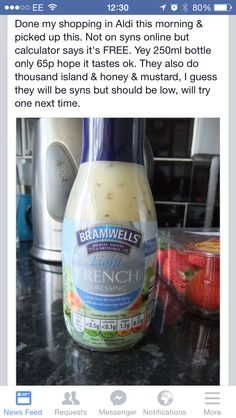 Aldi salad dressing
