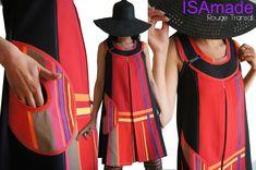 9aeebbc221f9 Les Robes Trapèze   Chasuble Toutes saisons - Robes Femme Originales  créateur mode fabriquées en France.