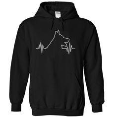 German Shepherd Heartbeat