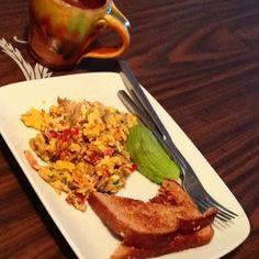 Breakfast breakfast breakfast. Could somebody cook me breakfast for a change!