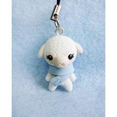 Winter Sheep keychain & mobile accessories, llaveros , colgantes de movil, animal,invierno,aveja,navidad,xmas,
