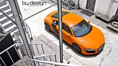 Audi R8 V8 glutorange