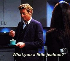 The Mentalist - when I watch this show I want a cup of tea! The power of suggestion.