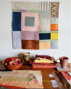 Thompson Street Studio Textile Prints, Hand Weaving, Hand Knitting