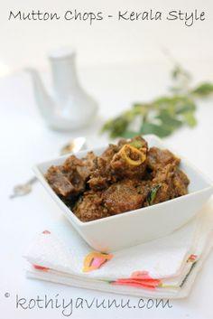 Kothiyavunu.com : Mutton Chops - Kerala Style