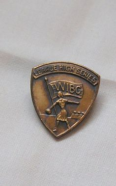 Vintage Lapel PinWomens International Bowling by frenchhen1, $3.00