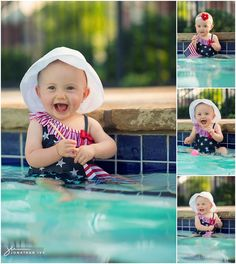 4th of July Baby Photo Shoot by Jonathan Ivy Photography