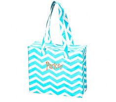 Chevron Tote Bag by DueSouthDesigns on Etsy