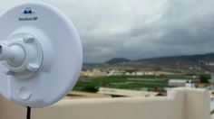 Instalación #WiFiCanarias #AirInternet en el Sur de Tenerife #ubiquiti #nanoBeamM19