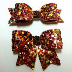 Autumn Leaves Mix/ Glitter Hair Bow / Sparkling Hair Clip / Hair Clip /Girl baby by teaandtoastx on Etsy https://www.etsy.com/listing/217772404/autumn-leaves-mix-glitter-hair-bow