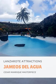 Jameos del Agua is a MUST SEE when visiting Lanzarote and it's probably the place that shows best the vision that Cesar Manrique had for the entire island.