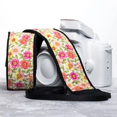 Floral Camera Strap, Primrose 17 One of my most poplar straps, fits dslr, slr or mirrorless cameras