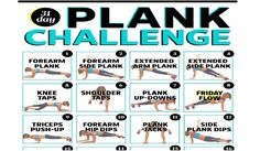 It's a Plank Off! 31 Core Exercises for a Killer Beach Body