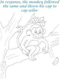 Image result for monkey and the cap seller story pdf