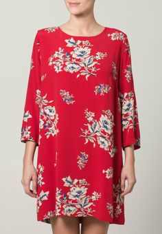 Joules - Vestido camisero - rojo