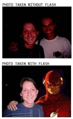 superhero humor...photography humor. how often can you get both in one.  :P