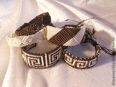 Браслеты ручной работы. Ярмарка Мастеров - ручная работа Браслеты макраме. handmade macrame bracelets
