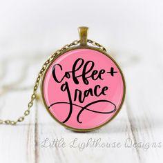 Coffee & Grace Pendant