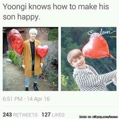 Suga and Woozi are related / the swaeg family