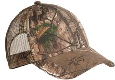 Port Authority Pro Camouflage Series Cap with Mesh Back C869 Realtree Xtra