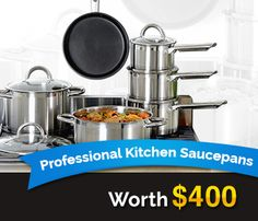 A Fantastic 6 Piece Professional Steel Cookware Set http://SaucePanContest.KokopelliEducationalProducts.co.uk/ref/w3829169