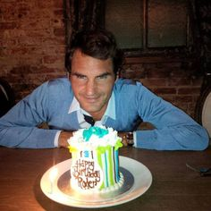 Happy 32nd Birthday Roger [Federer] (August 8th, 2013)