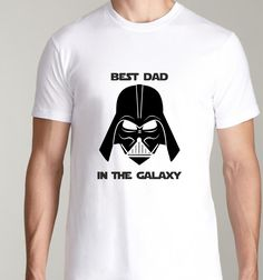 The Best Dad in the Galaxy t-shirt for man, shirt for dad, father!   Great gift for Star Wars fan!       Every pattern on products is handmade by me, so you have a guarantee high quality.   T-shirt packed in a eco box, a perfect idea for gift.    How can you wash t-shirt?  - machnine wash warm  - don't bleach  - iron inside out  - don't dry clean      This man T-shirt is available in sizes Small, Small, Medium, Large, Extra Large Extra Extra Large. To guarantee quick processing please choose…