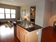 I love this open floor plan. More photos at www.Uptown101.com! #3636MckinneyApartments #UptownDallasApartments