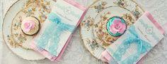 tea party in rosa e azzurro