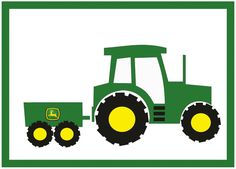 Tractor Clipart Black And White Clipart Panda Free Clipart Images John Deere Tratores, John Deere Party, Tractor Clipart, Tractor Logo, Tractor Birthday, Farm Birthday, Silhouette Cameo, Tractor Crafts, Birthday Clipart