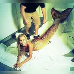 Mako Mermaids - behind the scenes Real Life Mermaid Found, Real Life Mermaids, H2o Mermaids, Mermaids And Mermen, Mako Mermaids Tails, Fantasy Mermaids, Fin Fun Mermaid Tails, Silicone Mermaid Tails, Mermaid Cove