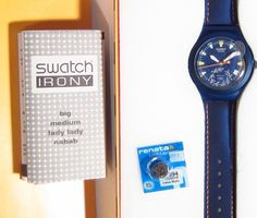 SWATCH SWISS MADE AG 2003 IRONY 2004 ATHENS GREECE SUMMER OLYMPICS WATCH in BOX #Swatch #Casual